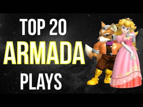 Armada SSBM Singles Tribute: Top 20 Plays - Super Smash Bros. Melee