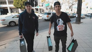 FaZe Hollywood $4000 SHOPPING! Cizzorz, Tenser, Kay, Temperrr & more!
