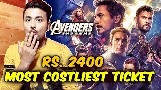 Avengers Endgame Costliest Ticket In India Sold For Rs. 2400 | Thanos Vs Super Heroes