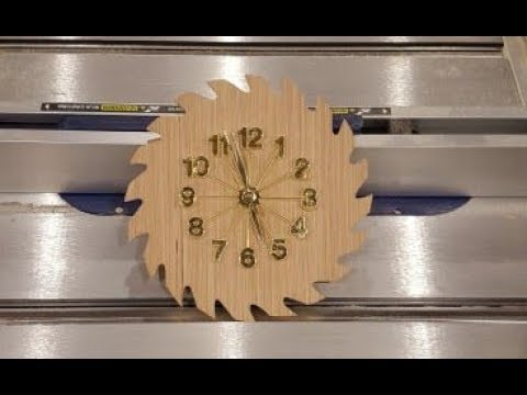 circular-saw-blade-clock-//-a-diy-scroll-saw-project
