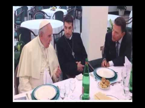 Pope Meets Copelands, Robinsons  to meet privately.