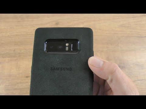 Official Samsung Galaxy Note 8 Alcantara Cover Case Review