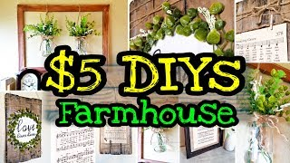 DIY Farmhouse Decor / Dollar Tree DIY Farmhouse Decor
