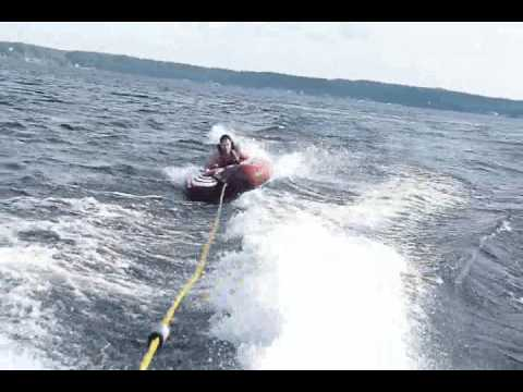 Seadoo Speedster 200 Tubing and Skiing on Saratoga Lake