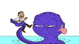 Obama y Cody: La Isla Misteriosa - Solución