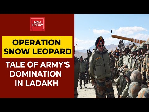 Operation Snow Leopard: Indian Army Dominates Key Heights In Eastern Ladakh | EXCLUSIVE