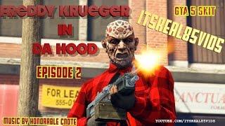 FREDDY KRUEGER IN DA HOOD PART 2 : GTA 5 SKIT