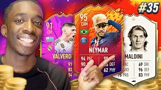 WE BOUGHT 95 HEADLINER NEYMAR + PRIME MALDINI! #35 MMT