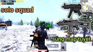 """PUBG Mobile - Solo Squad Với Combo Độc Quyền Map Vikendi   Xuất Hiện """"Hòm Thính Tím""""??"""