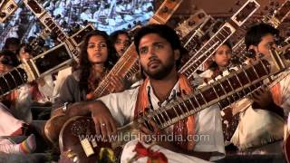 Mass Sitar recital - Brahm Naad in Delhi