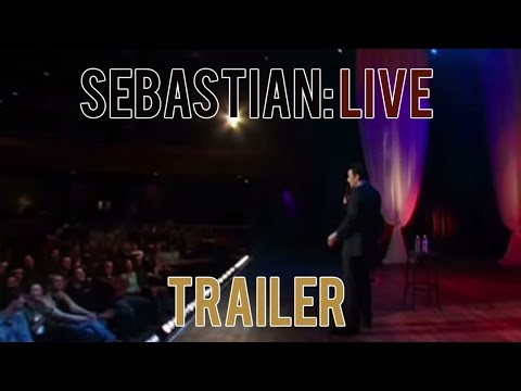 Sebastian Live Trailer | Sebastian Maniscalco