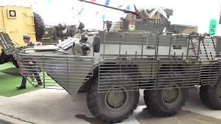 Защищенный БТР-82АТ на форуме AndquotАрмия-2019andquot