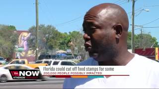 Florida could cut food stamps for some