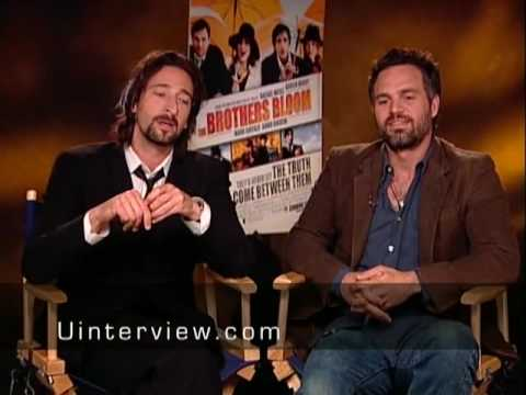 Adrien Brody & Mark Ruffalo On 'The Brothers Bloom'