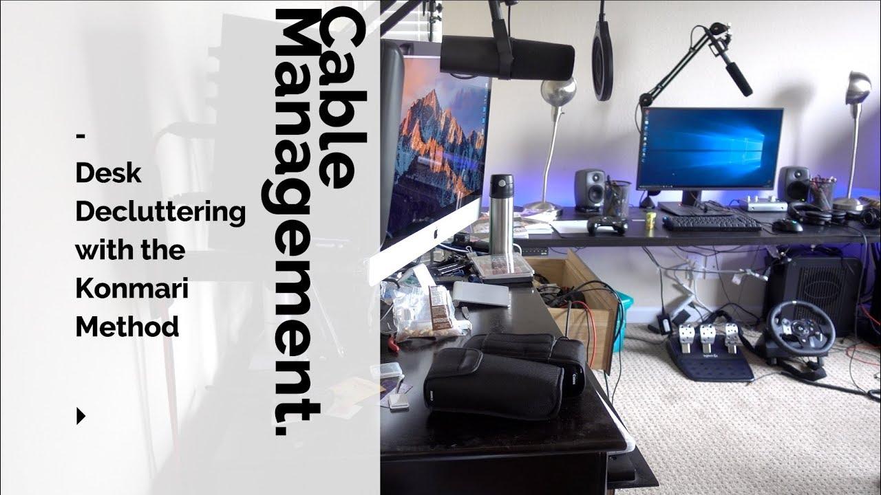 tidy office. KonMari Method To Tidy Your Office Desk Tidy Office