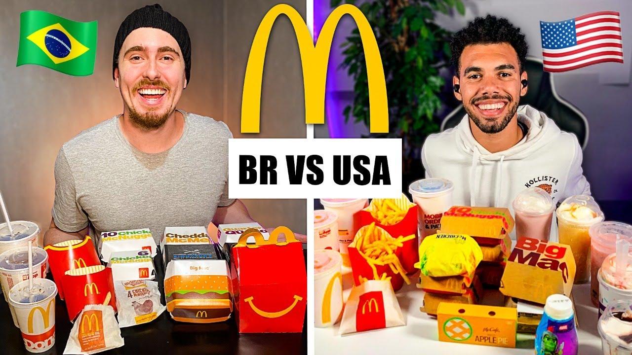 Download BR x EUA McDonalds I Batalha de comidas