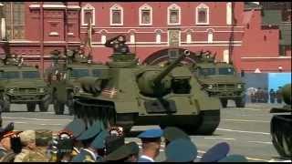 Парад Победы в Москве 9 мая 2015 года. Parad Moscow 2015(, 2015-05-09T13:20:30.000Z)