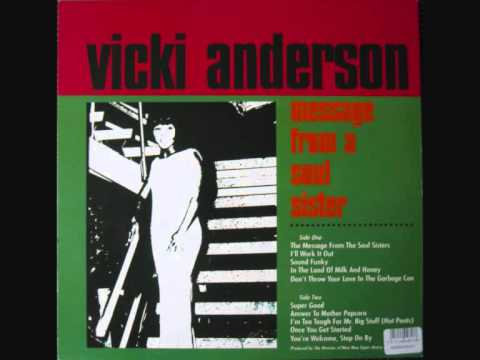Vicki Anderson - The Message From the Soul Sisters