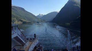 P&O Azura Norwegian Fjords 2018 HD