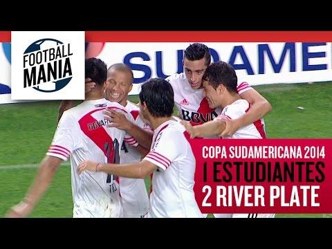 Estudiantes 1-2 River Plate - Copa Sudamericana 2014 - Quarterfinals