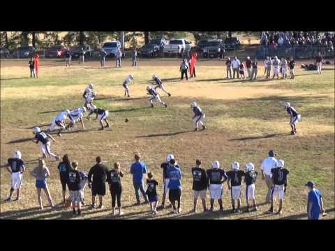 Caelan Freeman's Senior Football Highlights- Trinity School of Texas (2014)