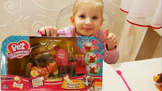 Парад питомцев. Smyths Toys - Pet Parade Playworld - review PostBox set!