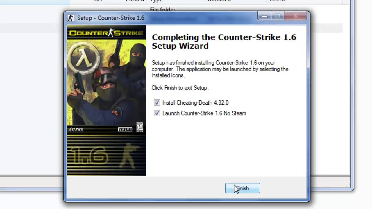 Cara install counter strike 1.6 online