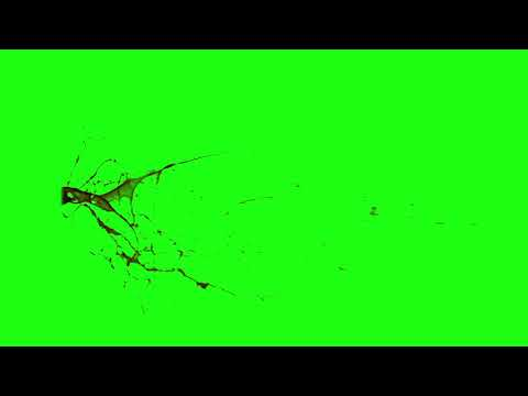 Green screen blood burst slow motion HD Video Collection [HD] part 1
