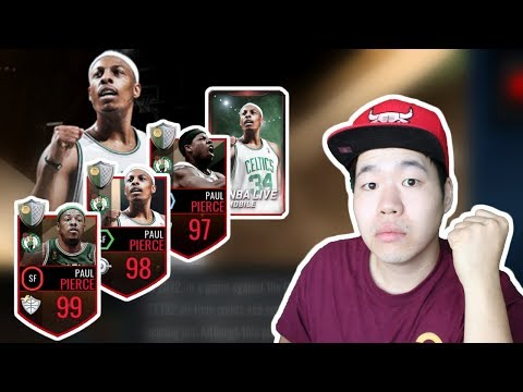 3 x Paul Pierce Career Tribute Pack Opening - Get your free 97+ Paul Pierce Today!