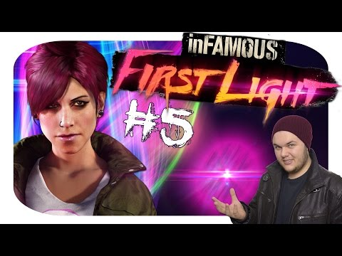 InFAMOUS First Light Walkthrough Gameplay Part 5 | BORN & RAISED IN TEXAS