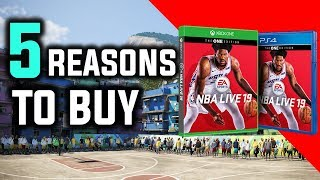 5 REASONS TO BUY NBA LIVE 19 | DAY 1
