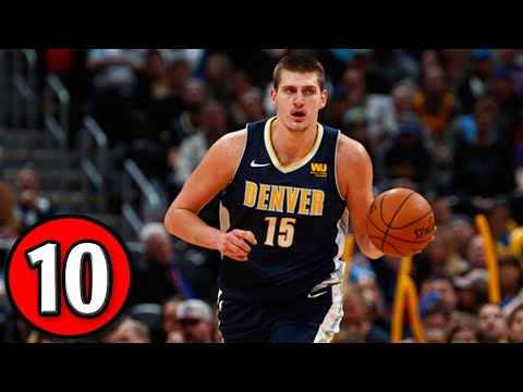 Nikola Jokić Top 10 Plays of Career