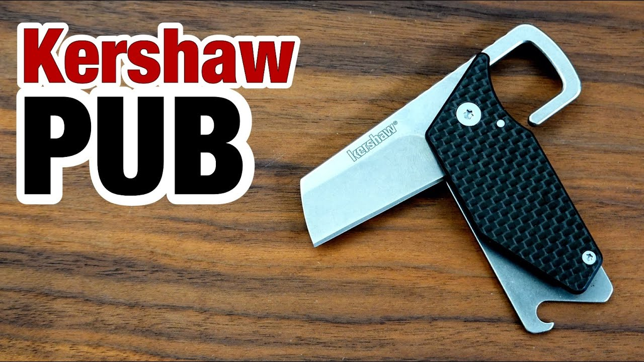 Kershawの栓抜きナイフ『PUB』