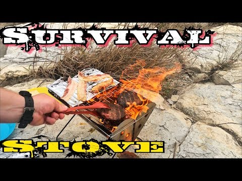 UCO Flat Pack Grill | Best Survival Stove Under $30