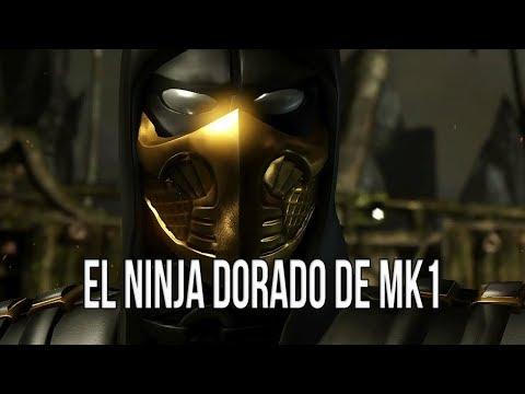MKXL   El ninja dorado de Mortal Kombat 1 thumbnail