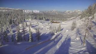Skigebiet Steinplatte / Steinplatte/Winklmoosalm - Waidring/Reit im Winkl | Stallenalm Steinplatte