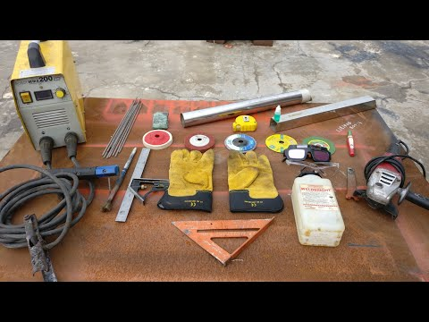 Learn Stainless Steel Joints & Welding with Stick welder (Possible)