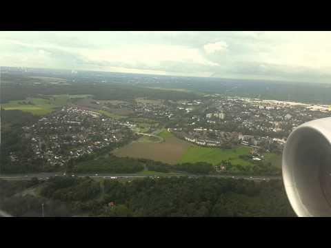 ANA Boeing 787 (NH 209) Landing Düsseldorf