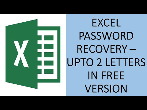 excel-password-recovery---how-to-recover-excel-password?---excel-password-by-brute-force-attack