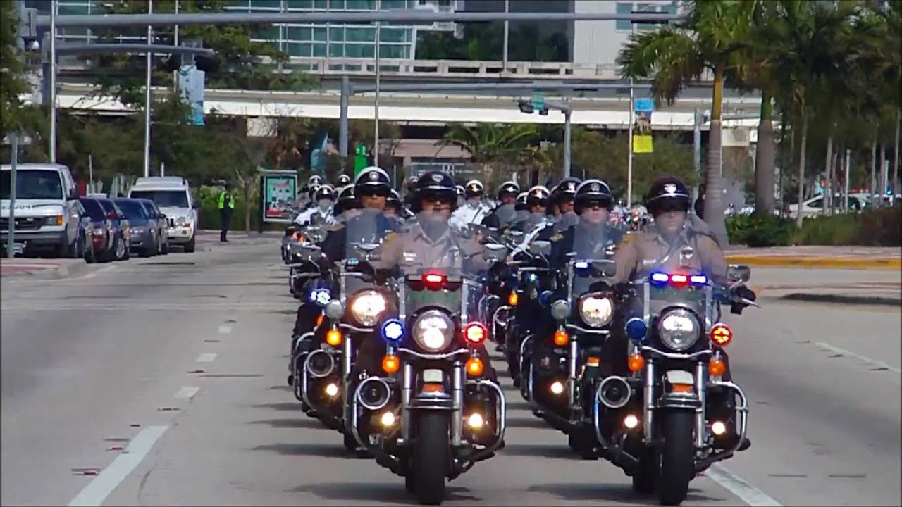Miami Dade Police Department Final Tribute Part 1 Youtube