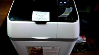 Ремонт хлібопічки LG HB 3001 BYT. Включається. Включаються програми. Гріє. Не крутиться мішалка