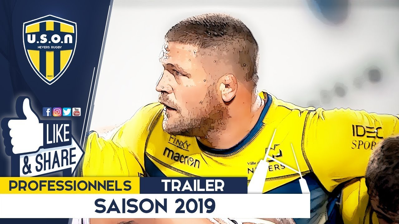 USON NEVERS RUGBY Trailer 2019
