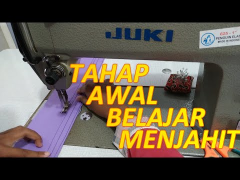 Tahap Awal Belajar Menjahit from YouTube · Duration:  12 minutes 11 seconds