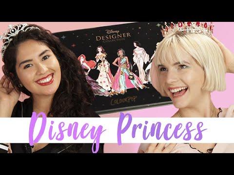 We Tried ColourPop's Disney Princess Collection