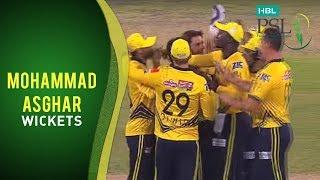 Match 3: Islamabad United vs Peshawar Zalmi - Mohammad Asghar Wickets