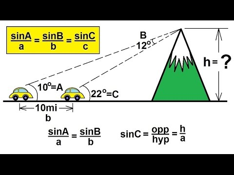 Precalculus trigonometry the law of sines 8 of 15 for How to buy a mountain
