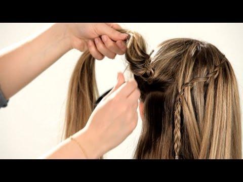 how-to-do-a-waterfall-braid- -braid-tutorials