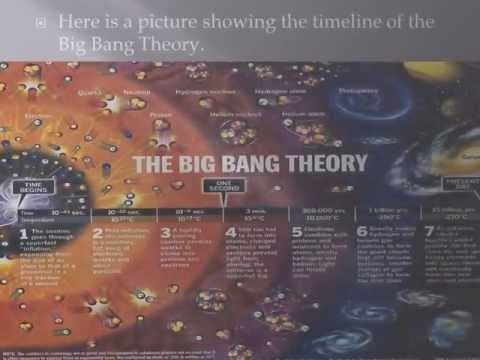 The Big Bang Theory PowerPoint Presentation