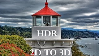 HDR Photography - 2d to 3d Effect - Nature - Nikon D5200 - Full HD