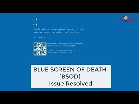 Fix Blue Screen Of Death Issue Windows 10, 8, 7, Vista & XP
